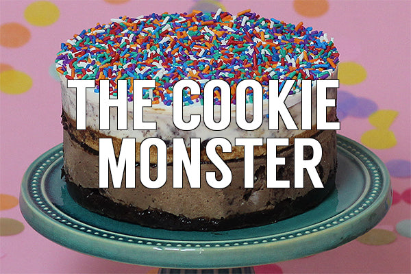 The Cookie Monster Cake