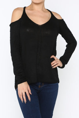 Cara Cutout Sweater
