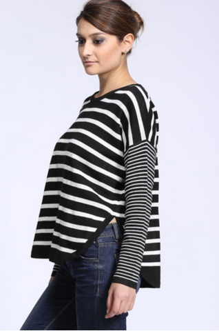 Edie Striped Sweater