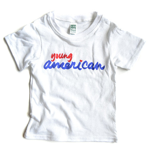 Young American tee (white)