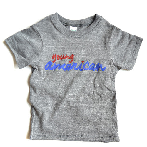 Young American tee (gray)