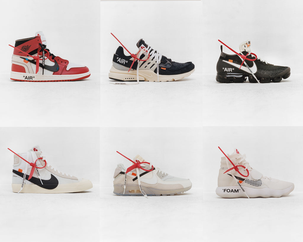 "4dd39a4c2964 Nike and Virgil Abloh have officially announced a massive collaborative  capsule called ""The Ten"". Featuring ten iconic silhouettes of the Nike"