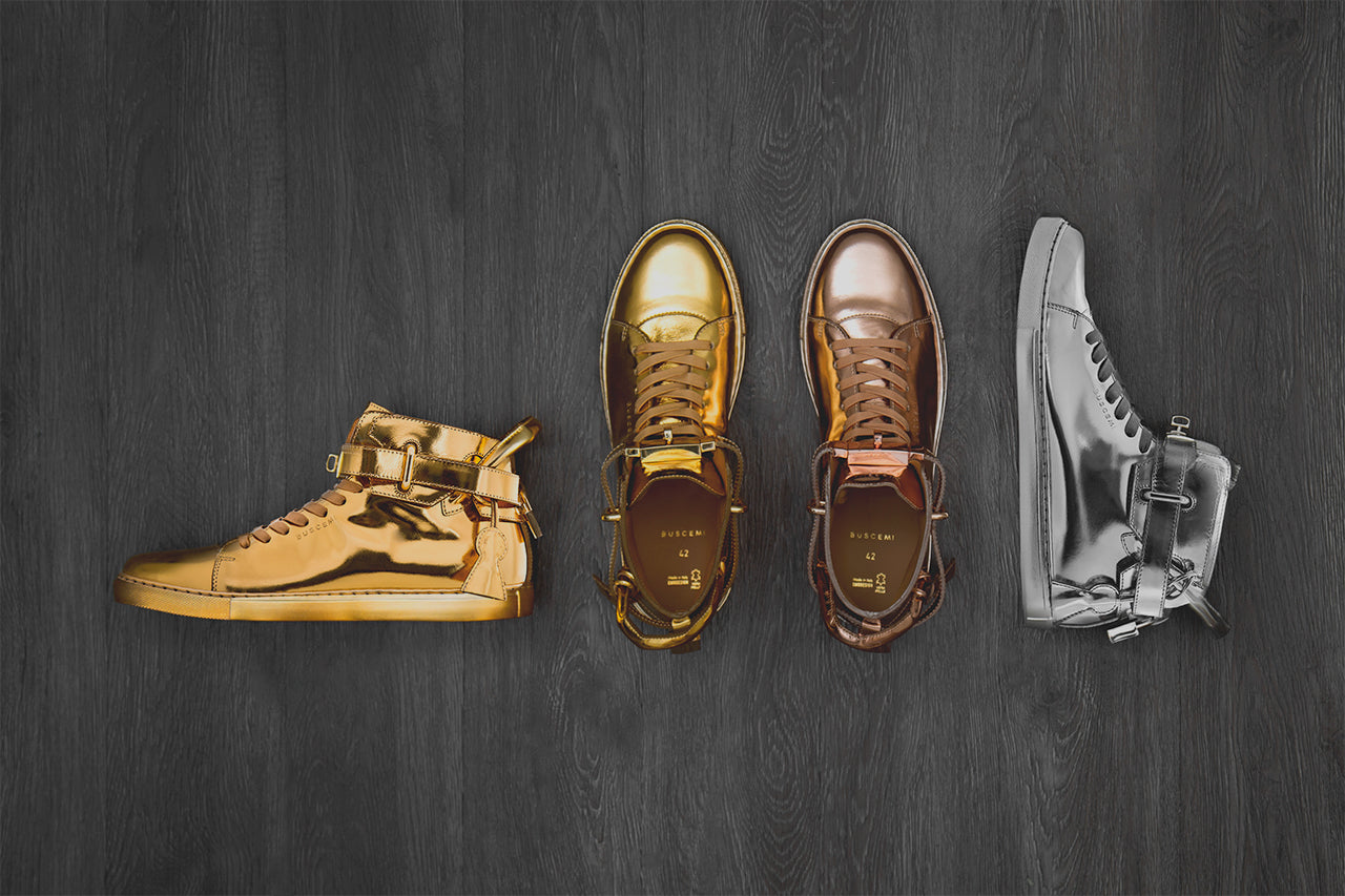 Buscemi   Metallic Gold Collection – A