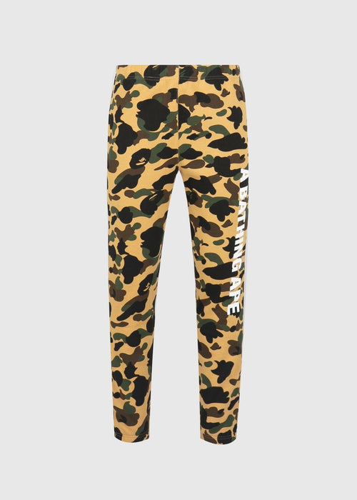 /products/bape-camo-slim-sweatpants-yellow