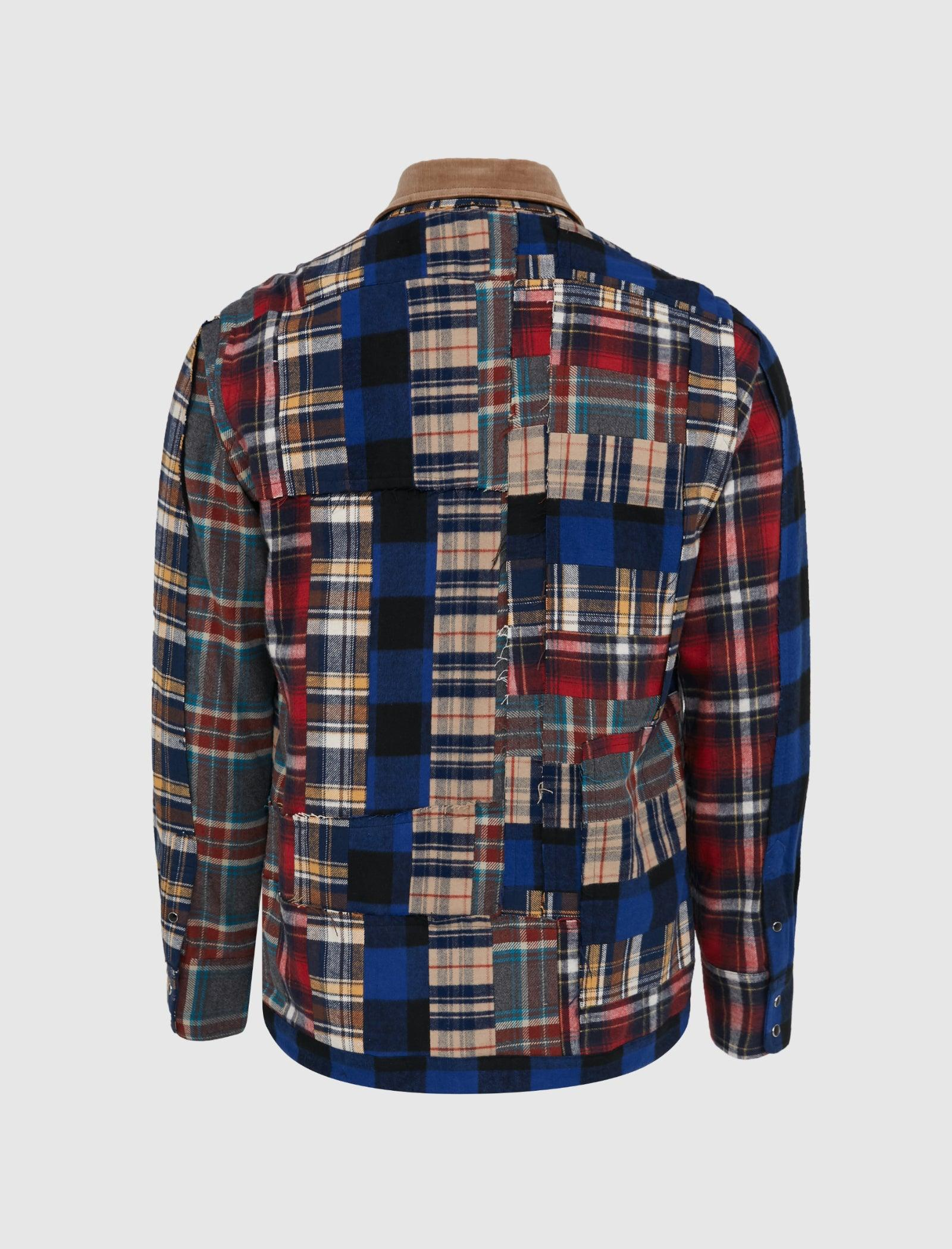 FLANNEL PLAID JACKET
