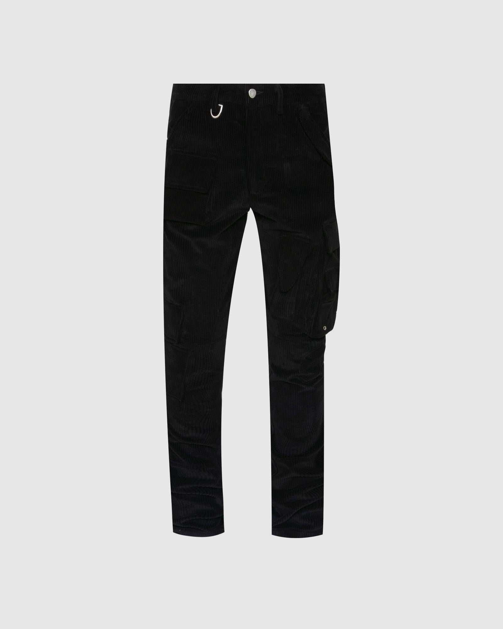BROWNSTONE: CARGO PANTS [BLACK]