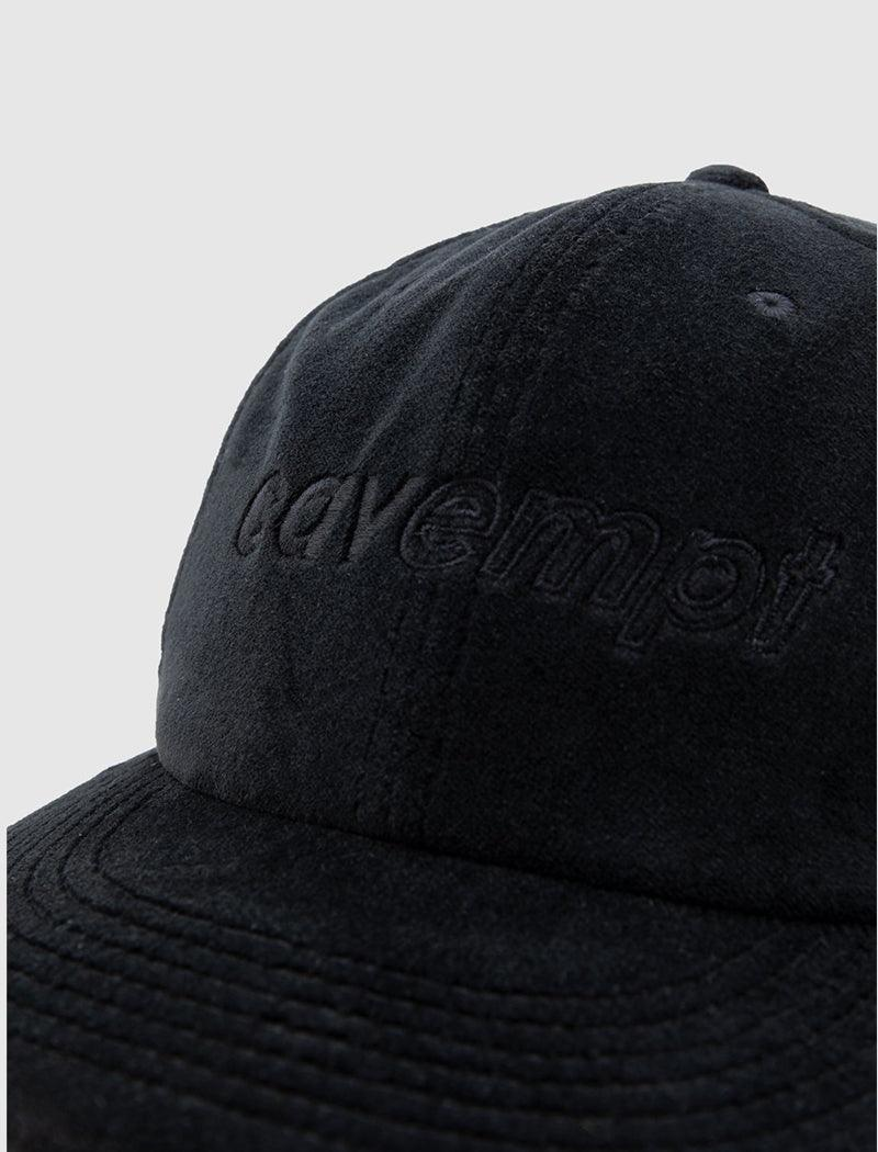 BLACK LOW CAP