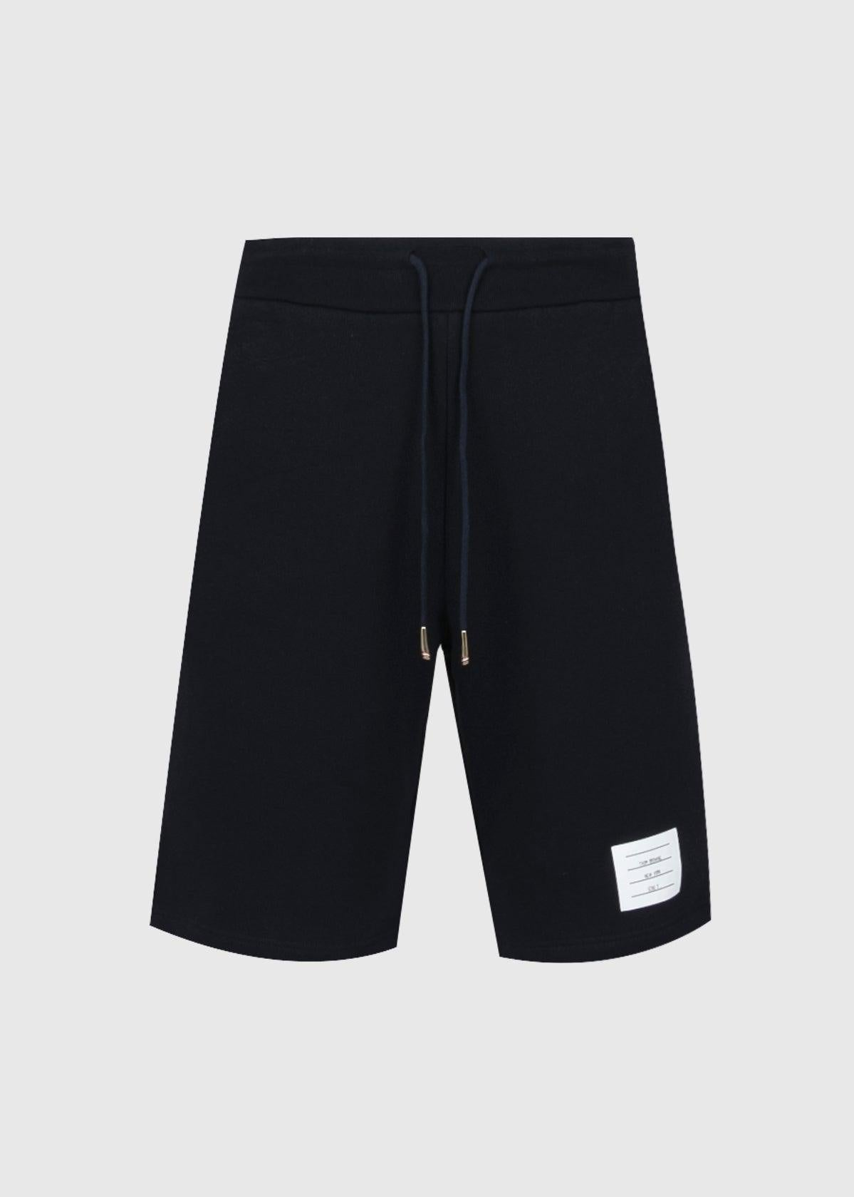 THOM BROWNE: SWEATSHORTS [NAVY]