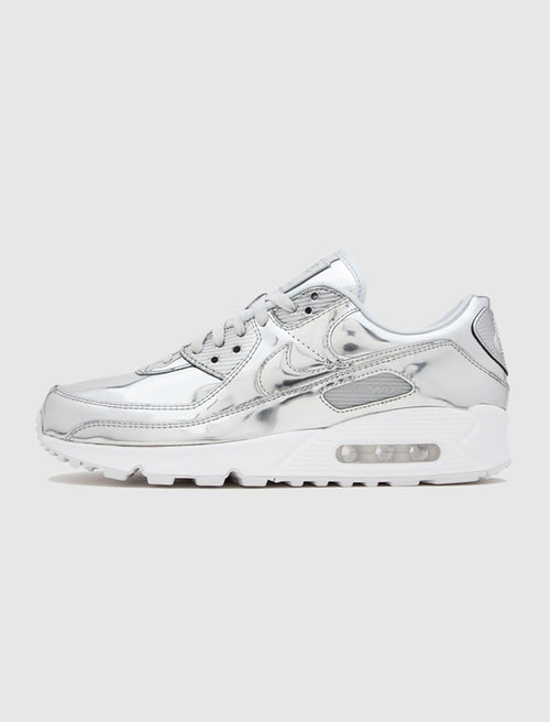 /products/nike-womens-air-max-90-liquid-metal-silver