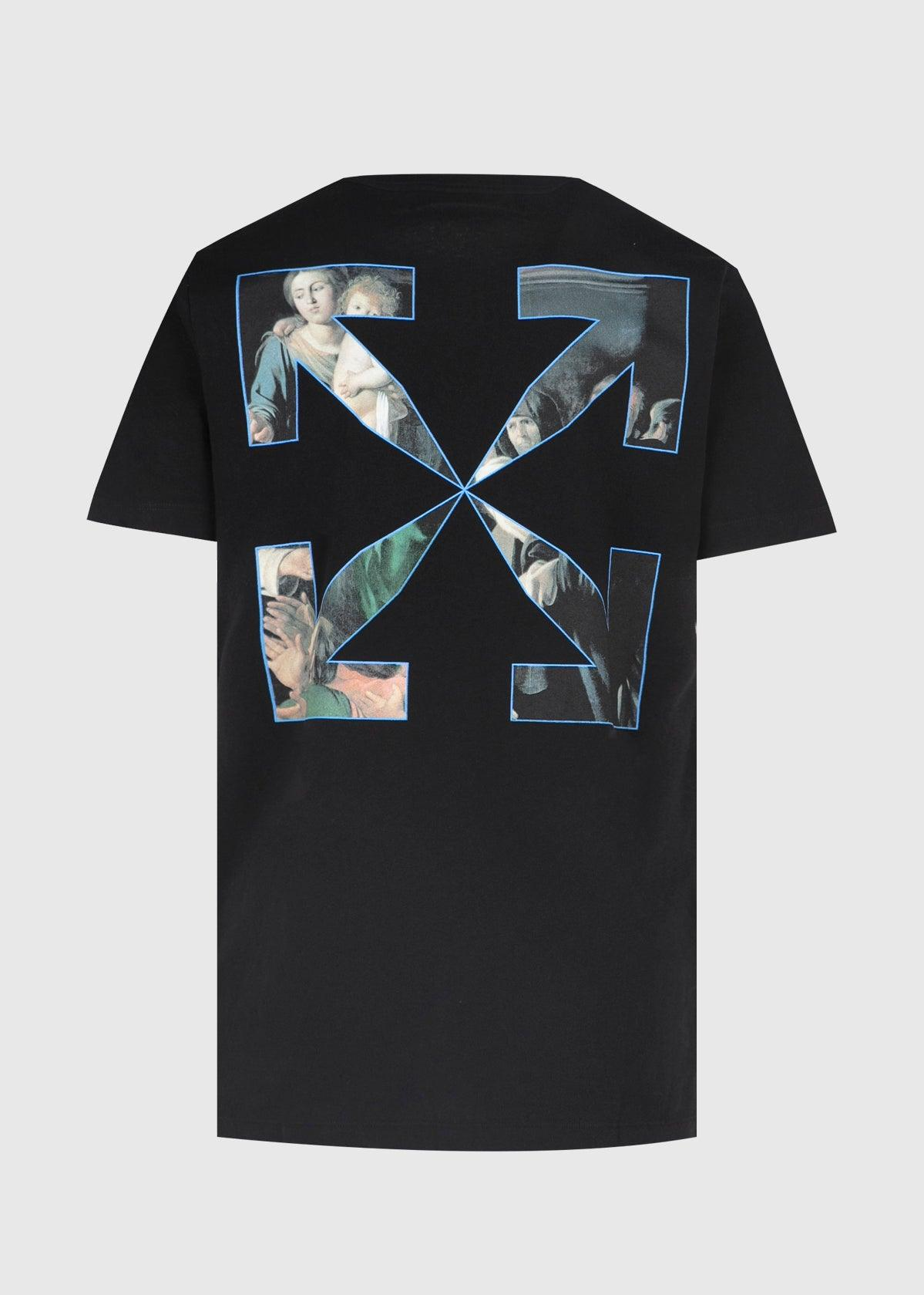 OFF-WHITE: CARAVAG PAINT TEE