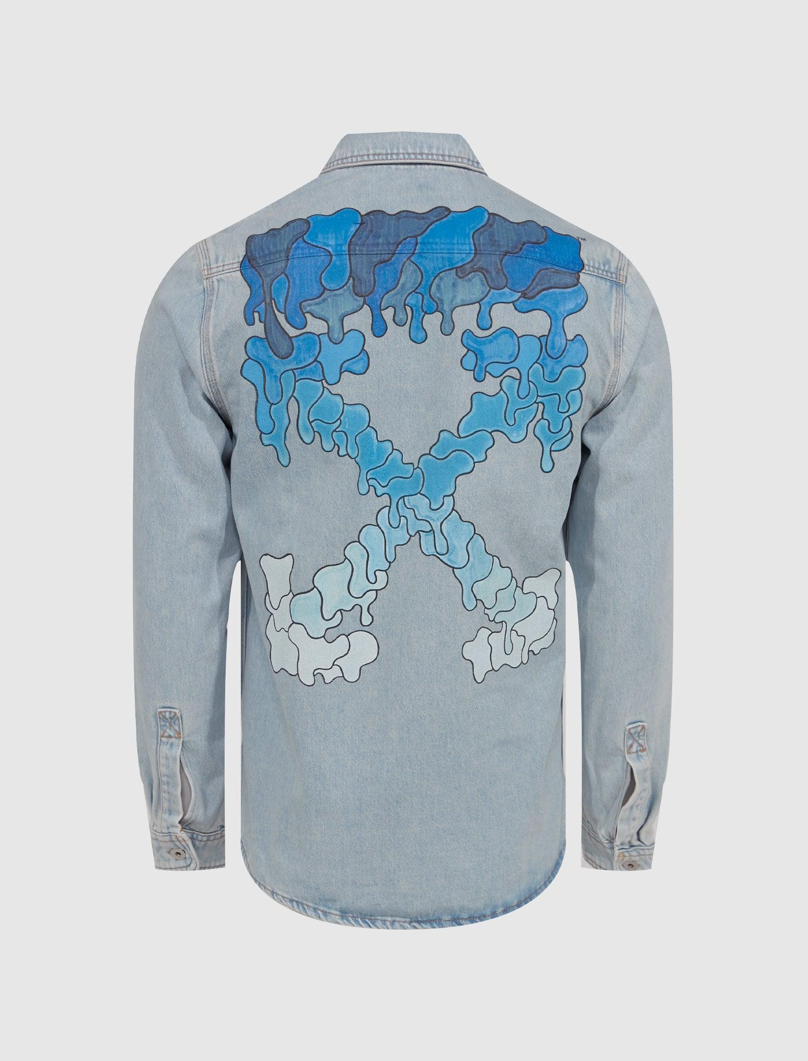 MARKER DENIM SHIRT