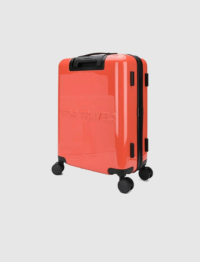 OFF-WHITE: ARROW TROLLEY SUITCASE
