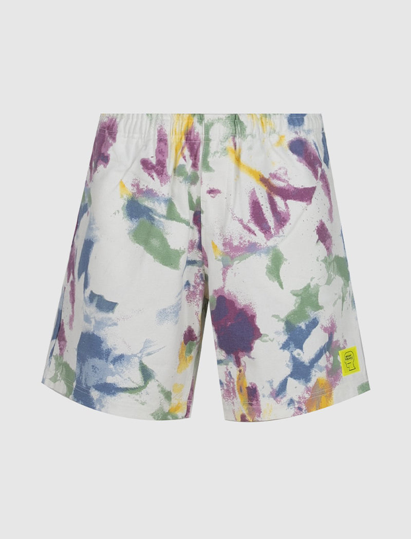 REFLECTIVE BEACH SHORTS