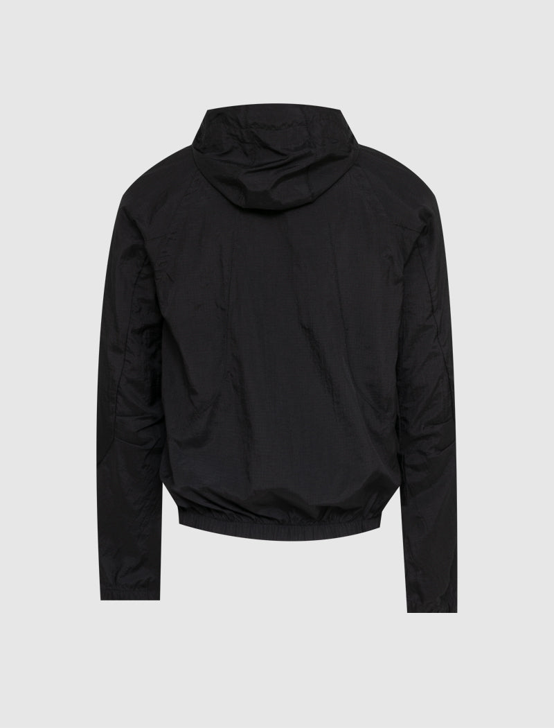 REVERSIBLE HOODED TRACK JACKET