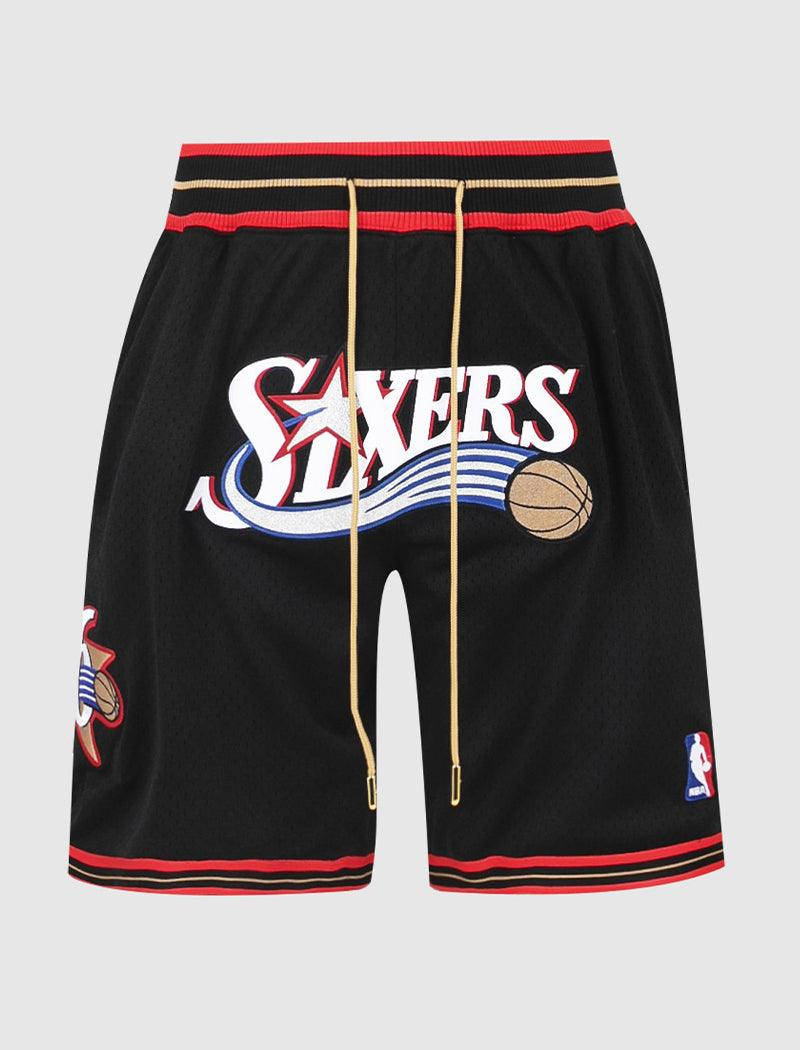 JUST DON 76ERS SHORTS