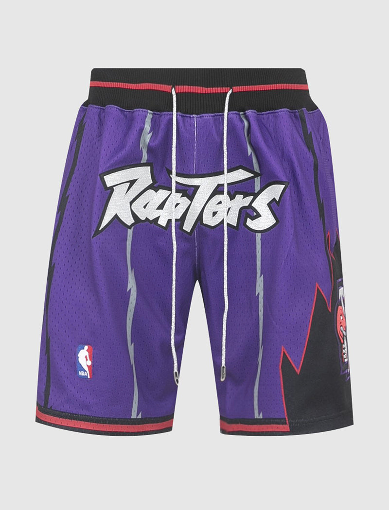 JUST DON RAPTORS SHORTS