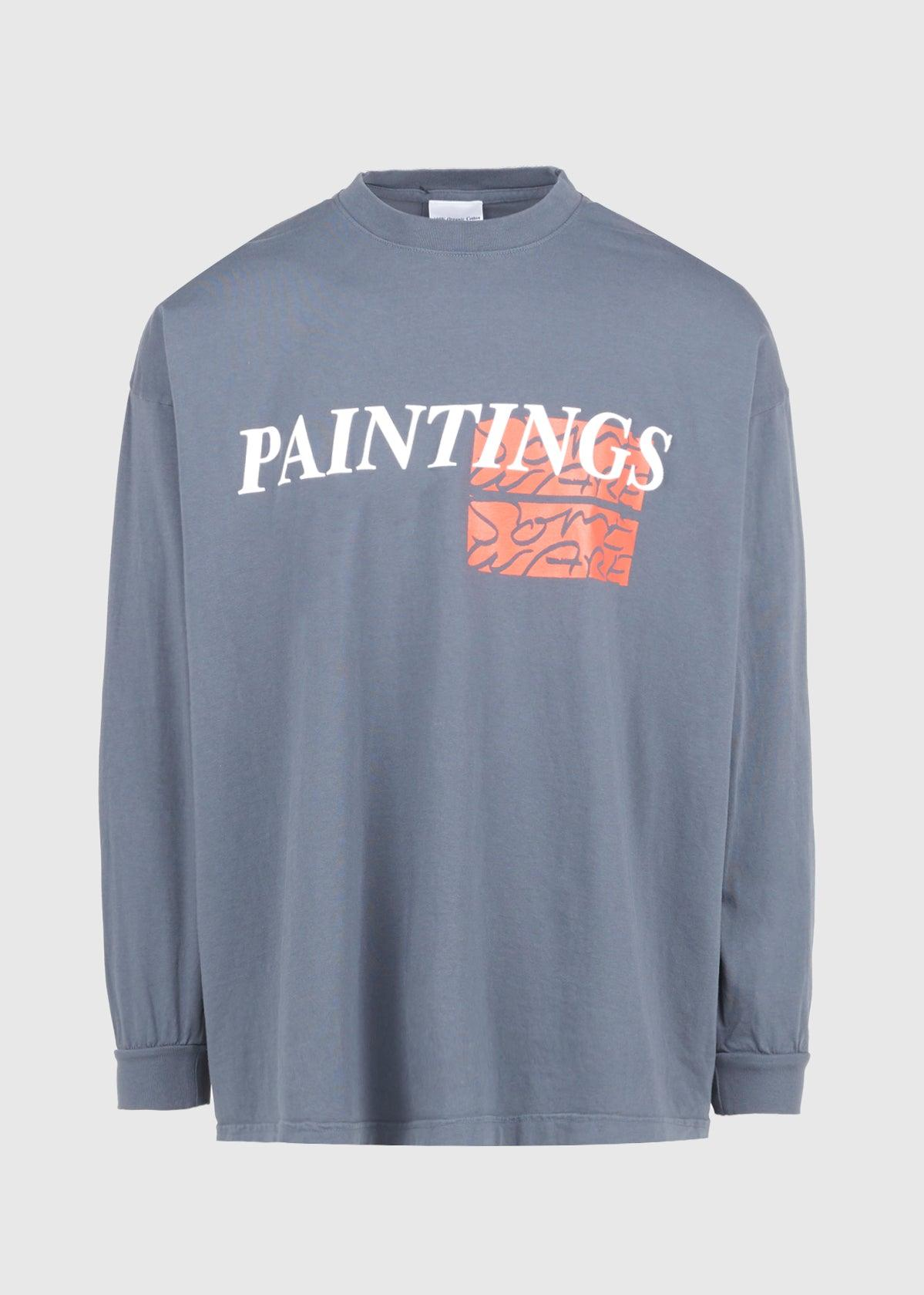 PAINTINGS LONG SLEEVE TEE