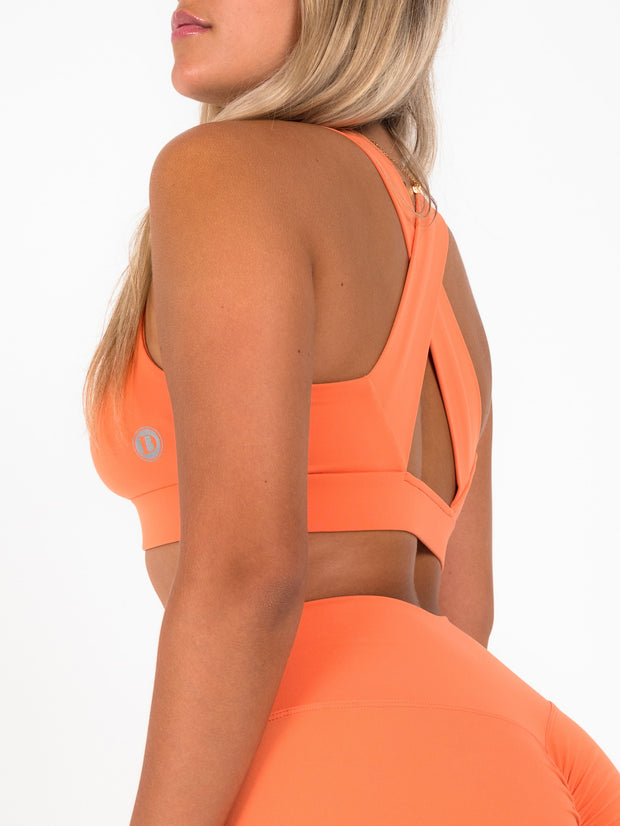 Iconic Sports Bra (Tangerine)
