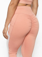 Mesh Sides + Pockets Leggings (Select Your Color)