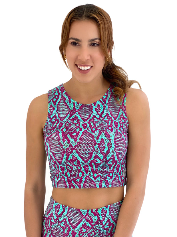 Back To Basics Crop Top (Viper)