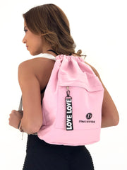 LOVE DTina's Boutique Gym Backpack