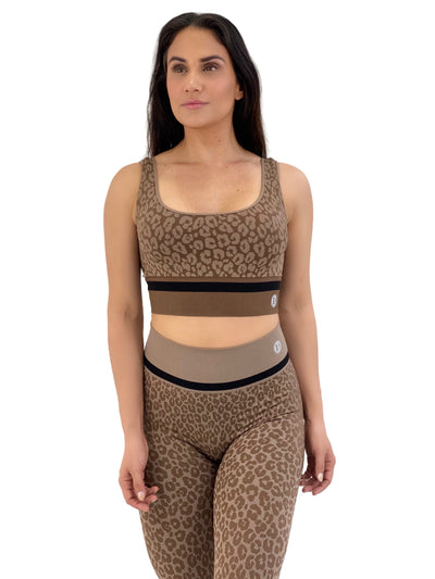 Seamless Cheetah Set (Camel Brown)
