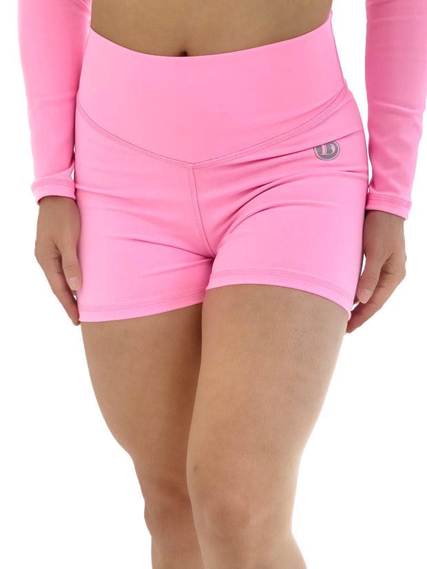 Cotton Candy Pink Shorts