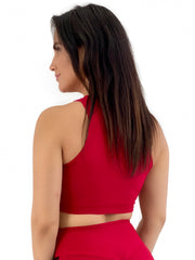 Scrunch Crop Top (All Solids & Prints)