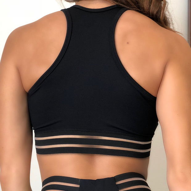 Sexy Stripes Sports Bra (Select Your Color)
