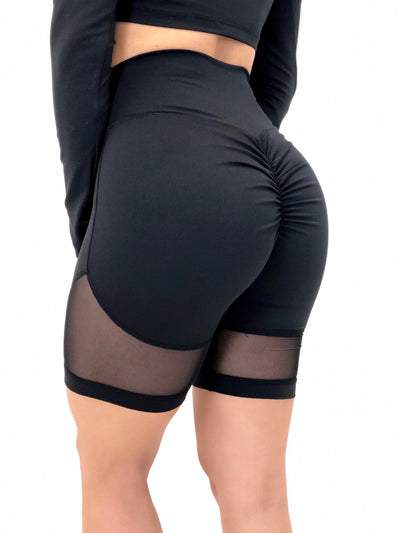 Muscle Mesh Biker Shorts (All Solids & Prints)