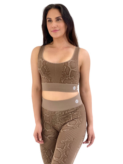 Seamless Snakeskin Set (Tan)