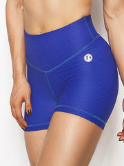 BubbleBum Mini Textured Shorts in Electric Blue