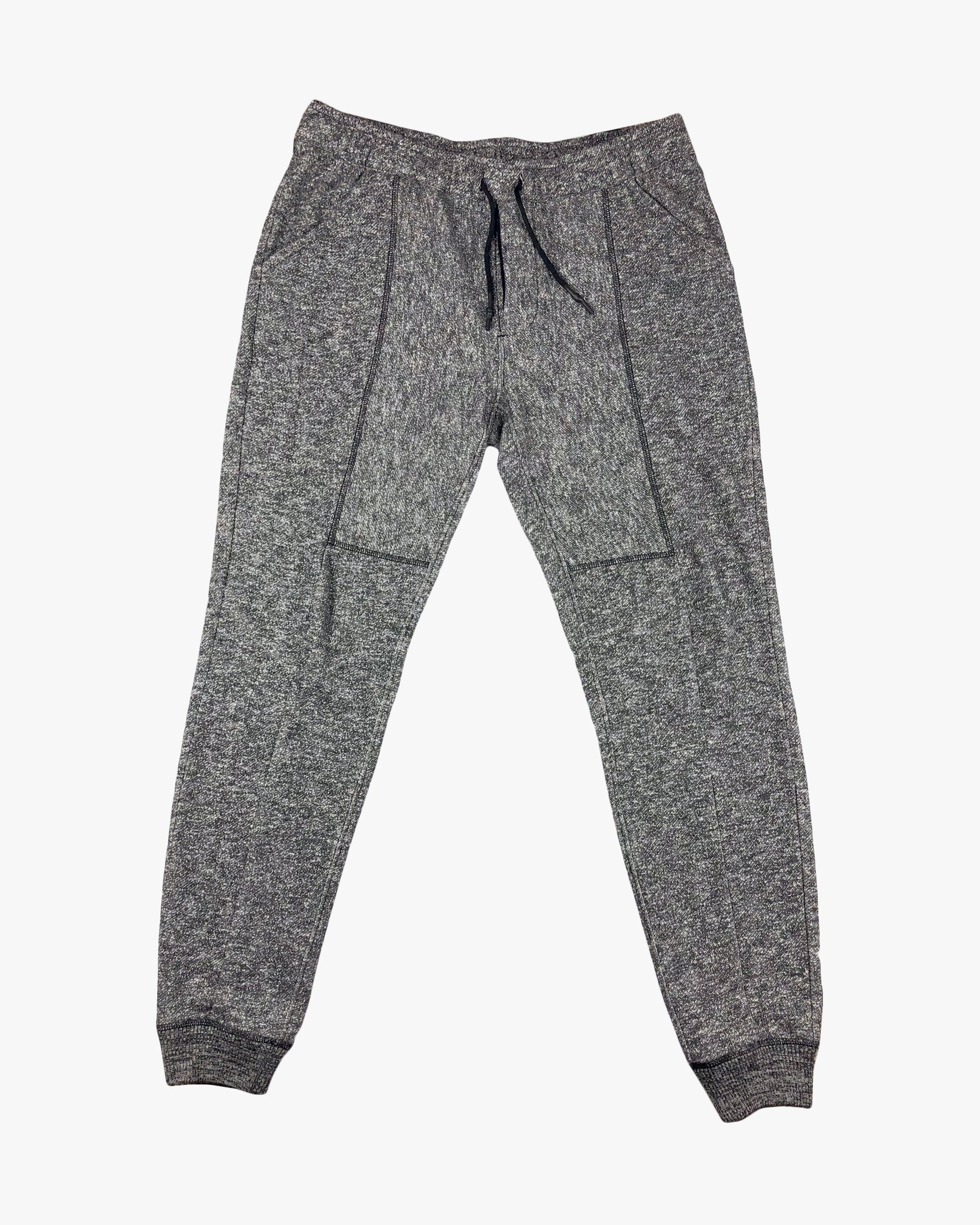 Paneled Sweatpants, Grey