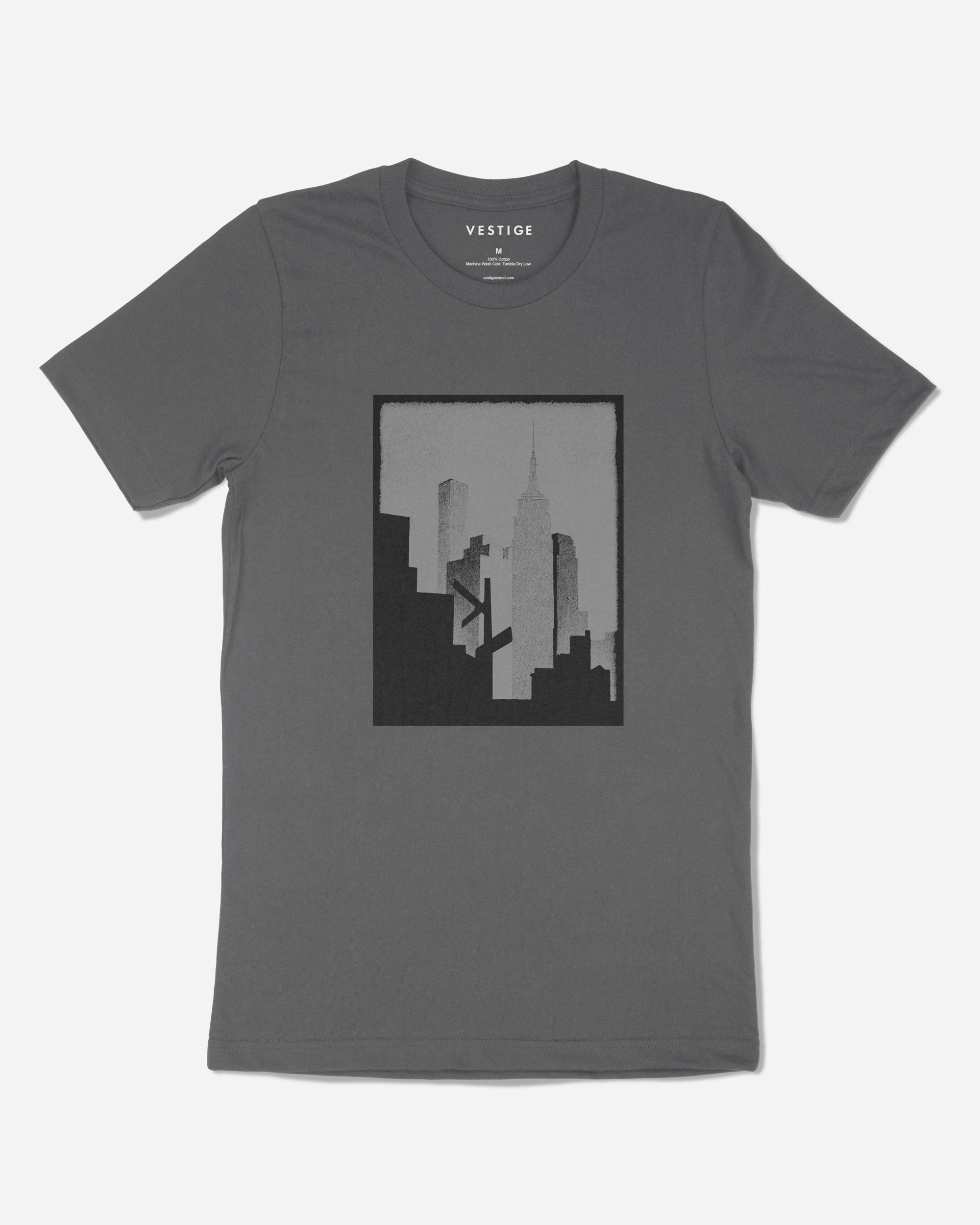 Skyline T-Shirt, Grey