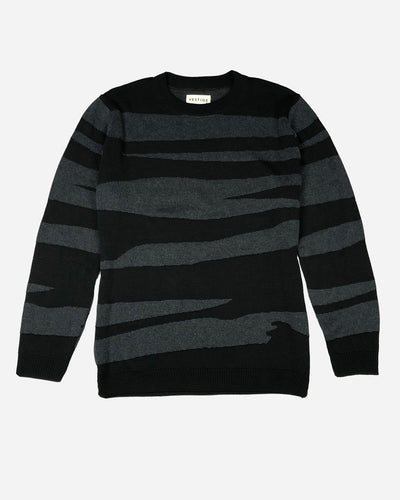 Textured Sweater, Black