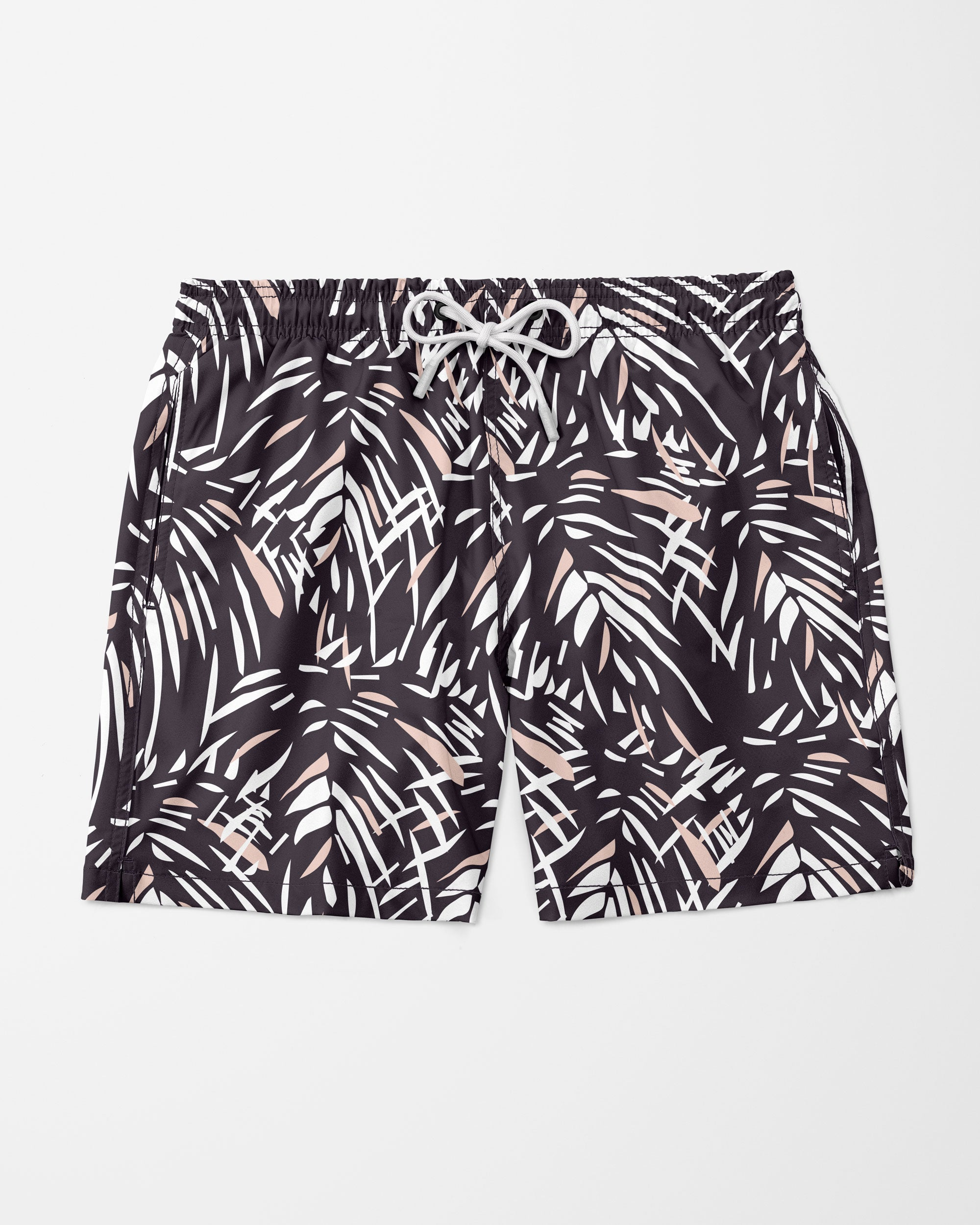 Jungle Swim Shorts, Black