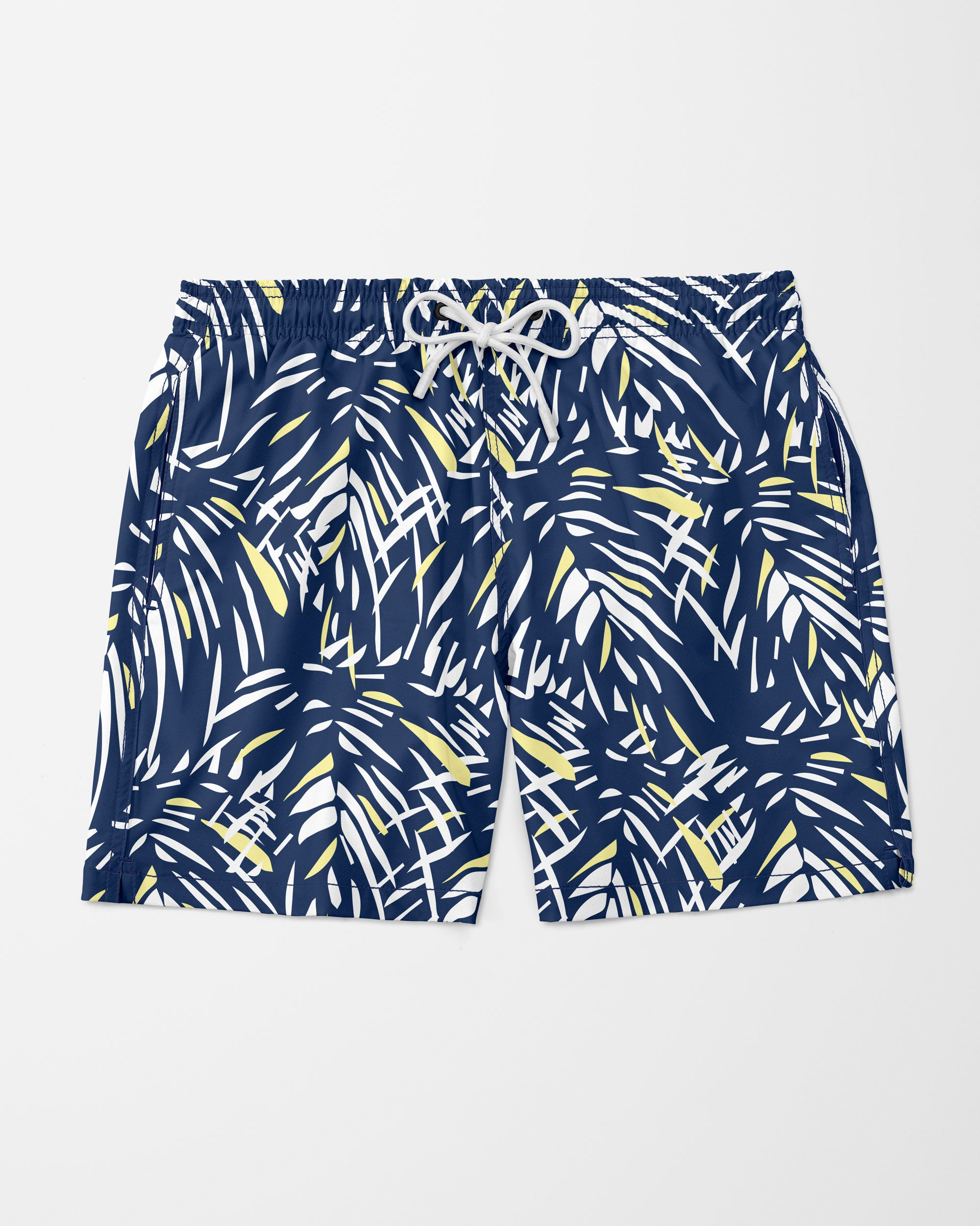 Jungle Swim Shorts, Blue