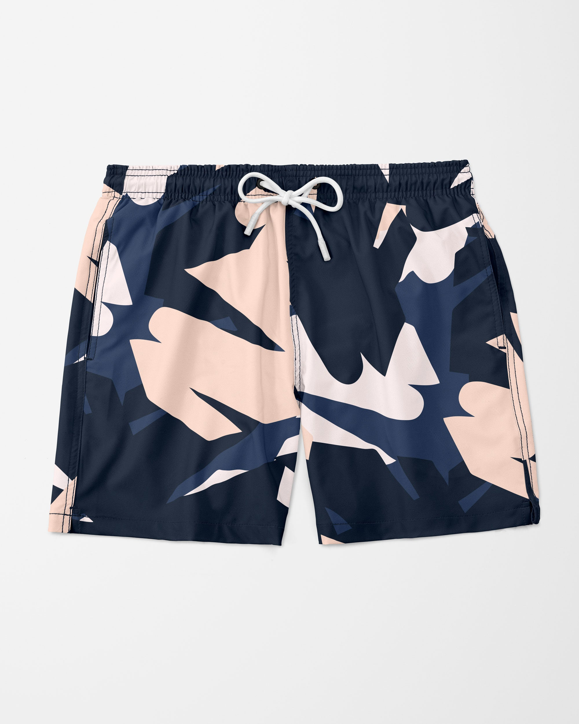 Visual Art Swim Shorts,  Navy