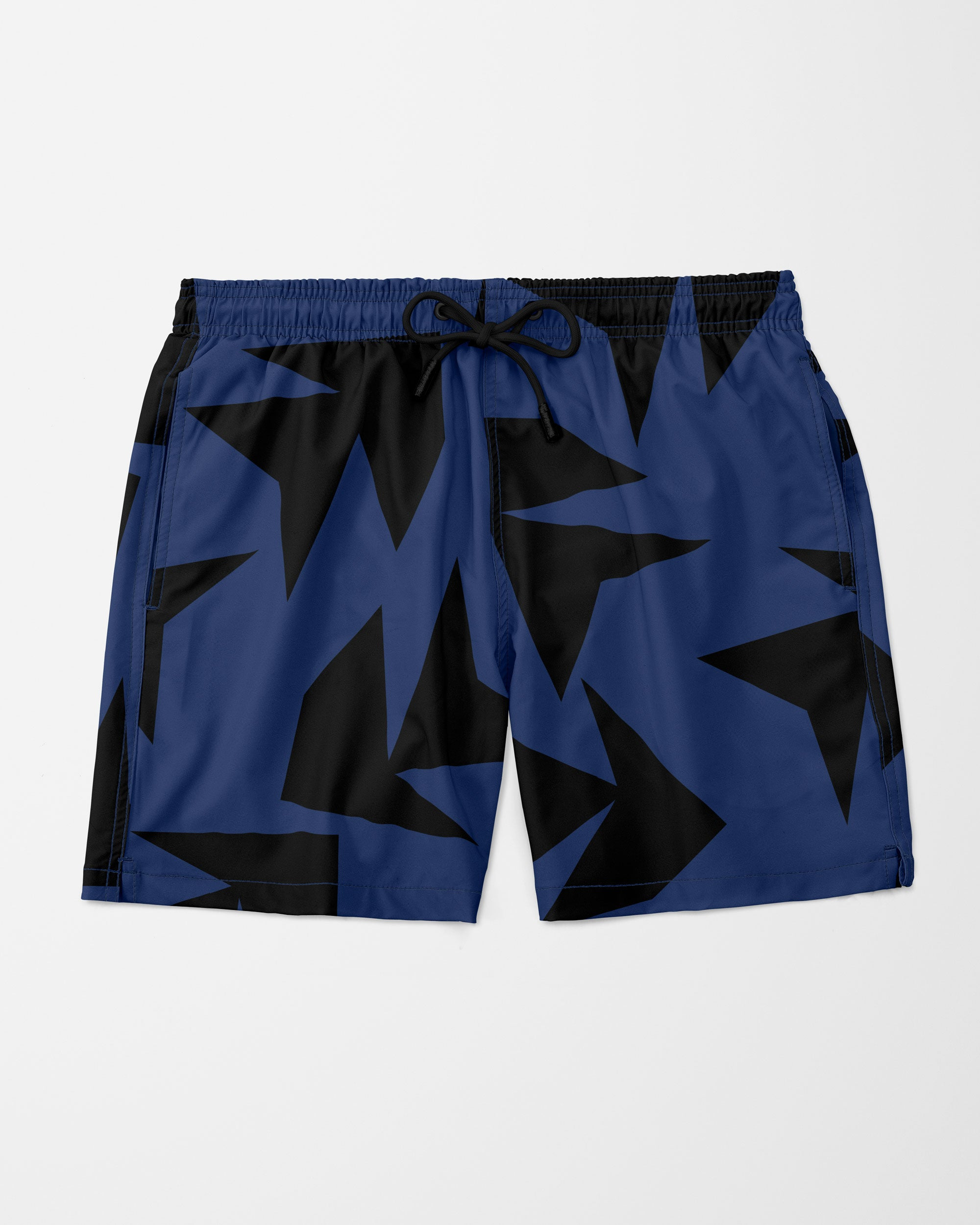 Triangle Jungle Swim Shorts, Navy