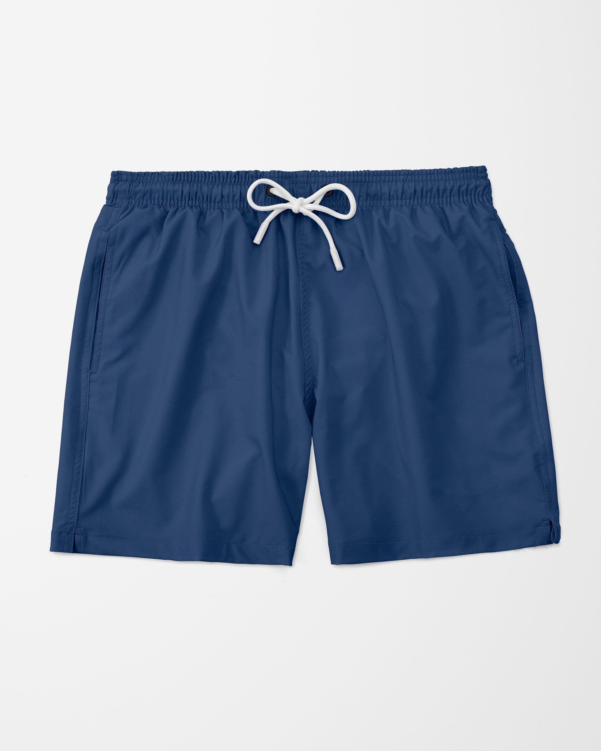 Solid Swim Shorts, Blue