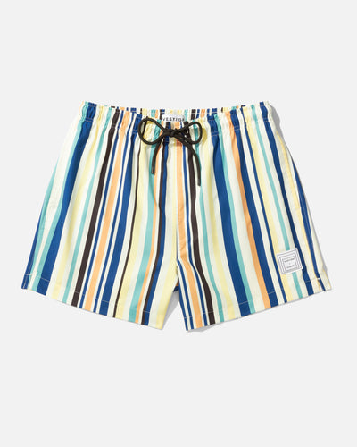Chromatic Stripe Swim Short, Yellow