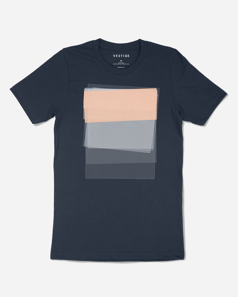 Sunken Graphic T-Shirt, Navy
