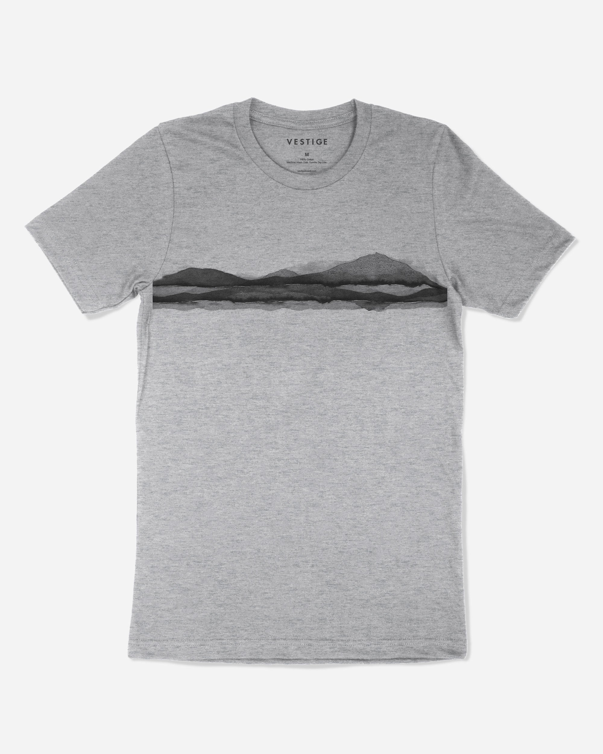 Vista T-Shirt, Light Grey