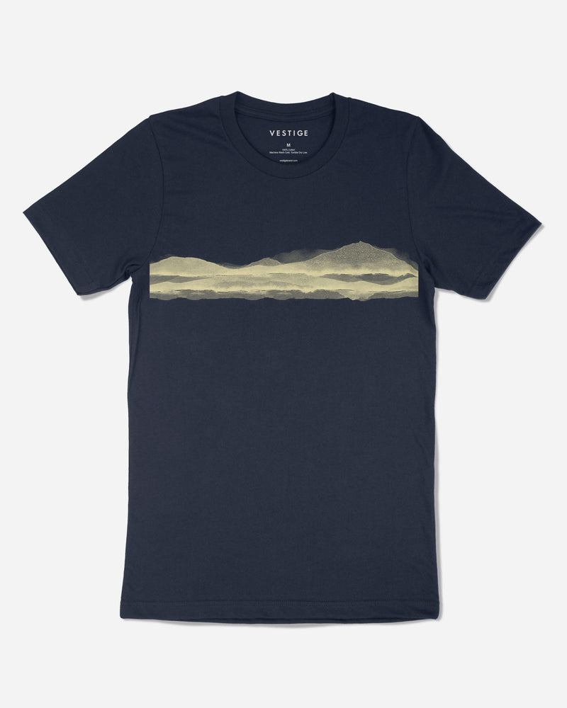 Vista T-Shirt, Navy