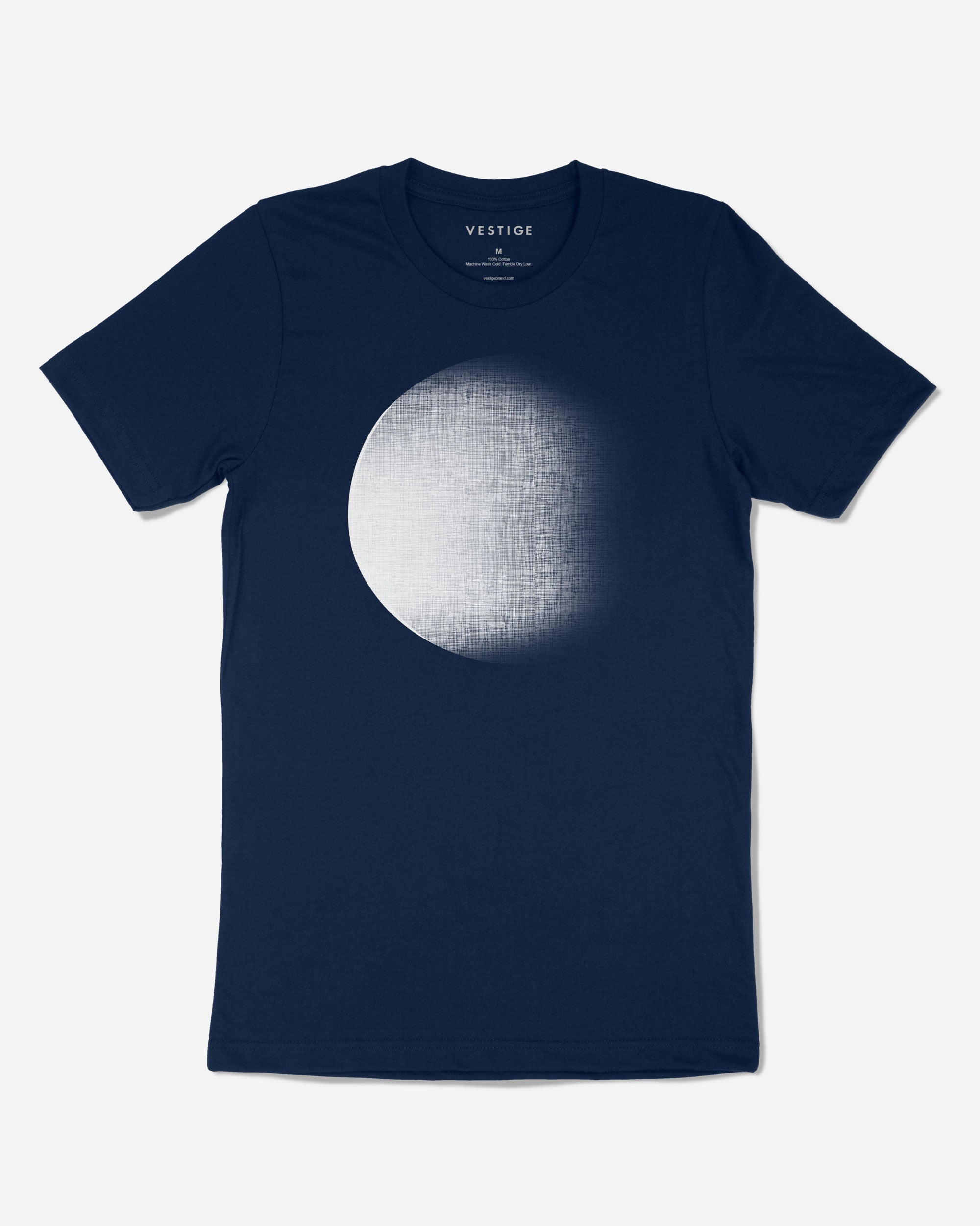 Dark Moon Blue T-Shirt, Navy