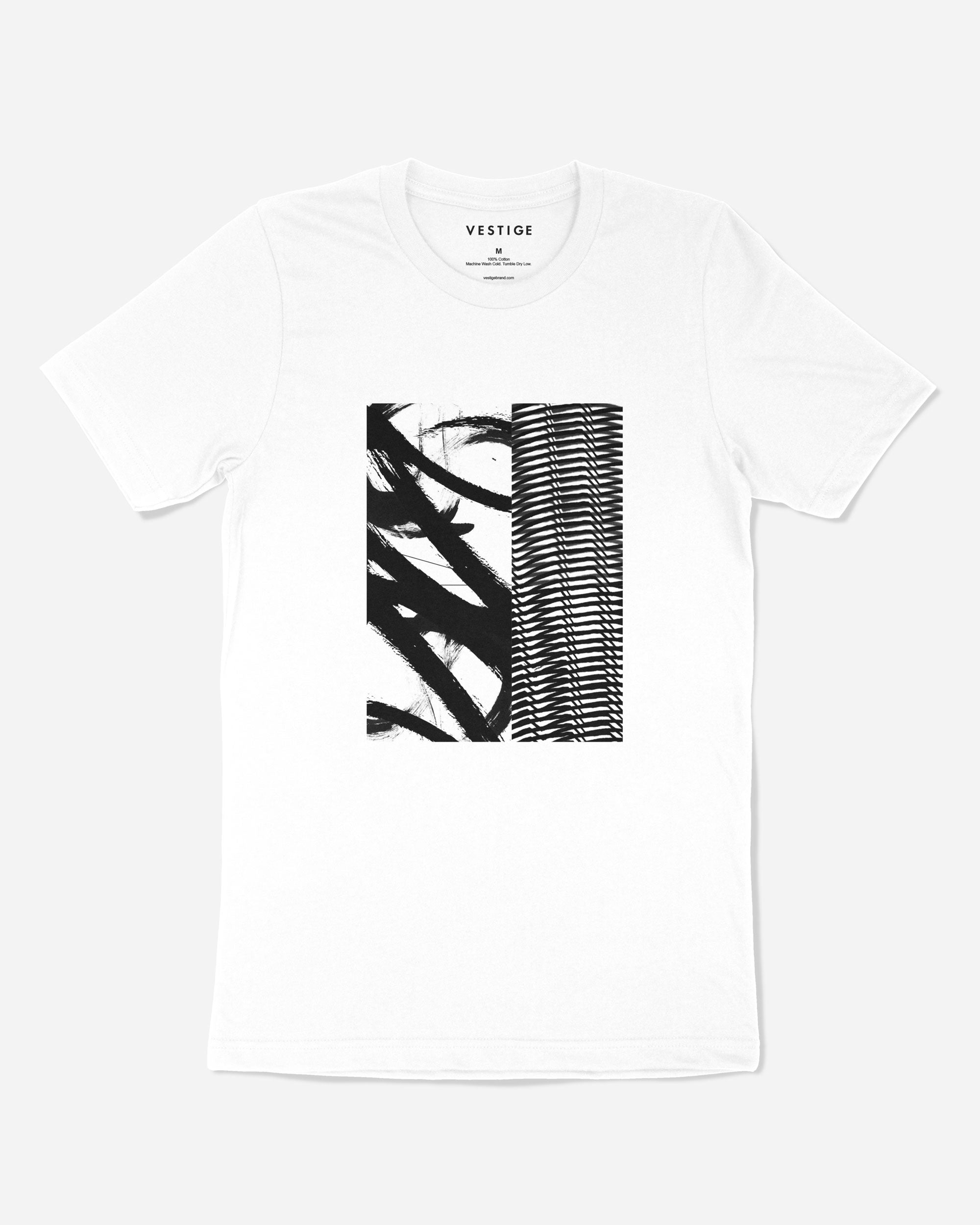 Motion T-Shirt, White