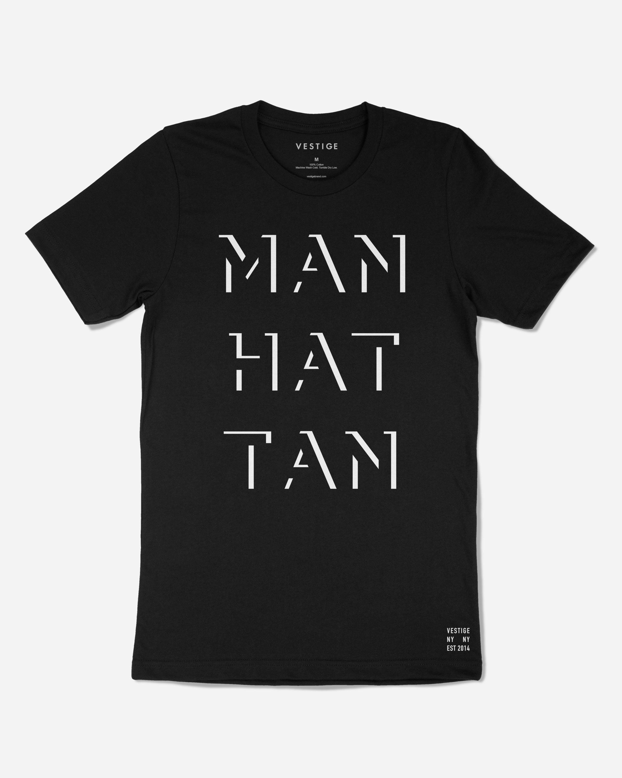 Manhattan Gotham T-Shirt, Black