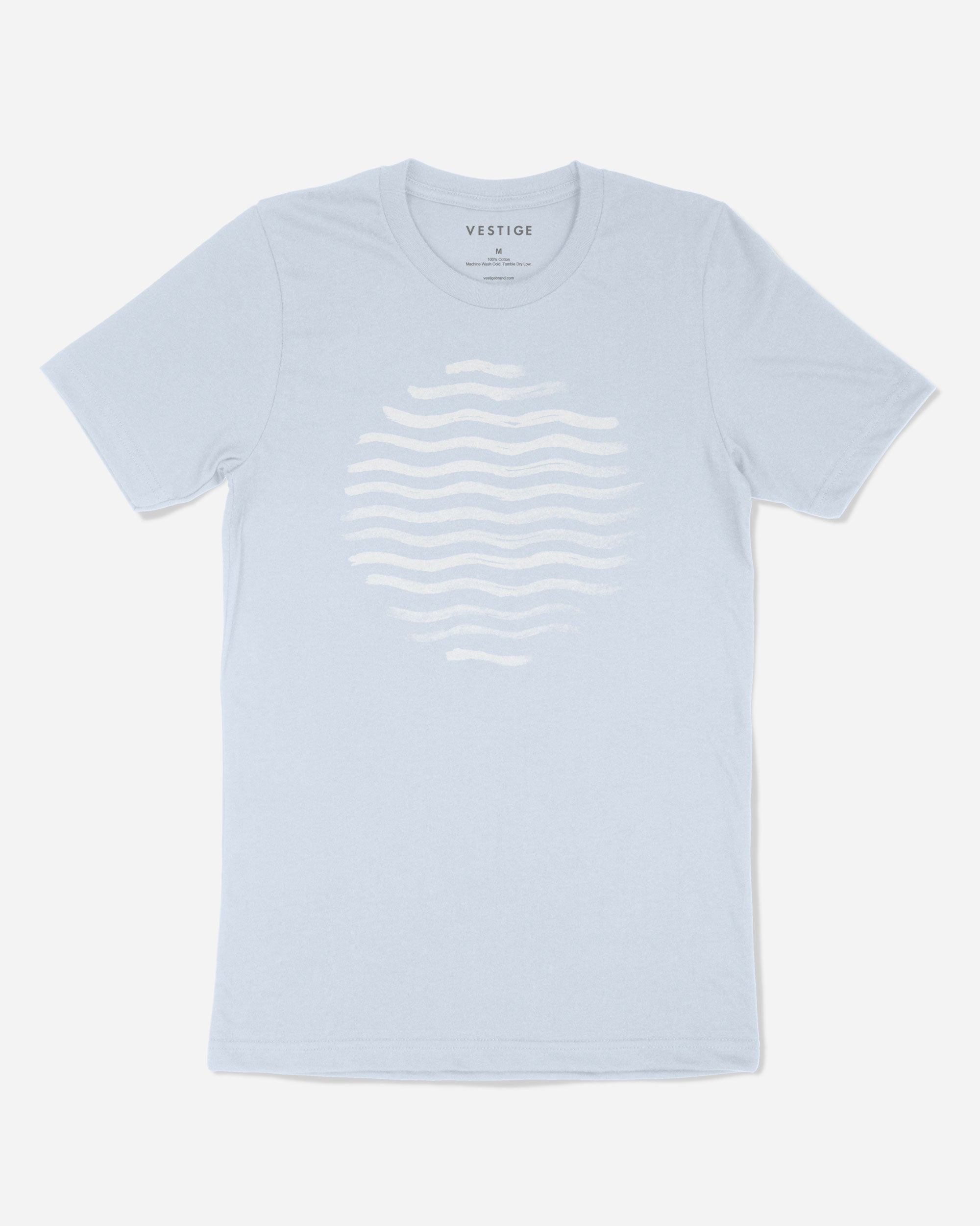 Beach Vibe Redux T-Shirt, Light Blue