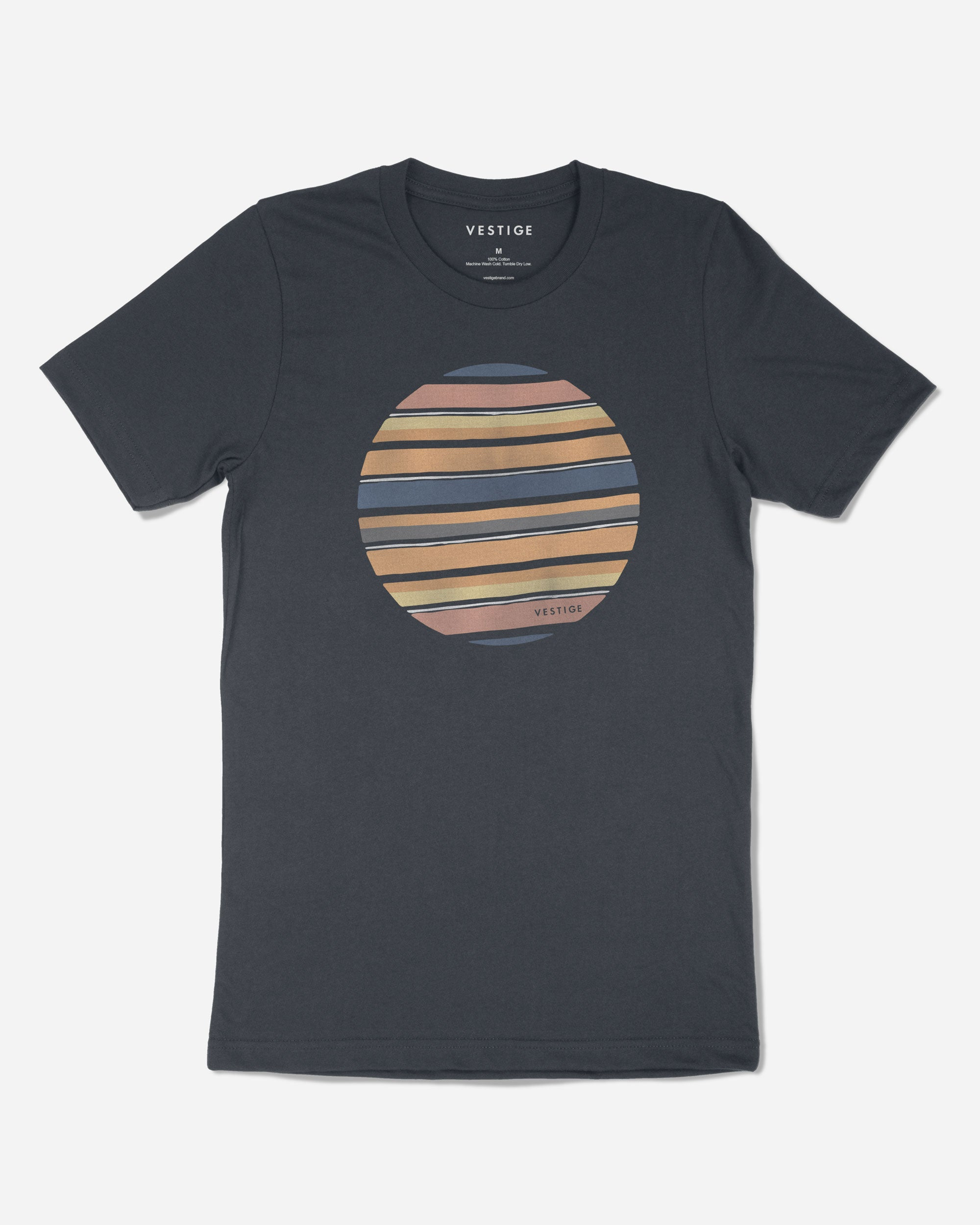 Retro Orbit T-Shirt, Navy