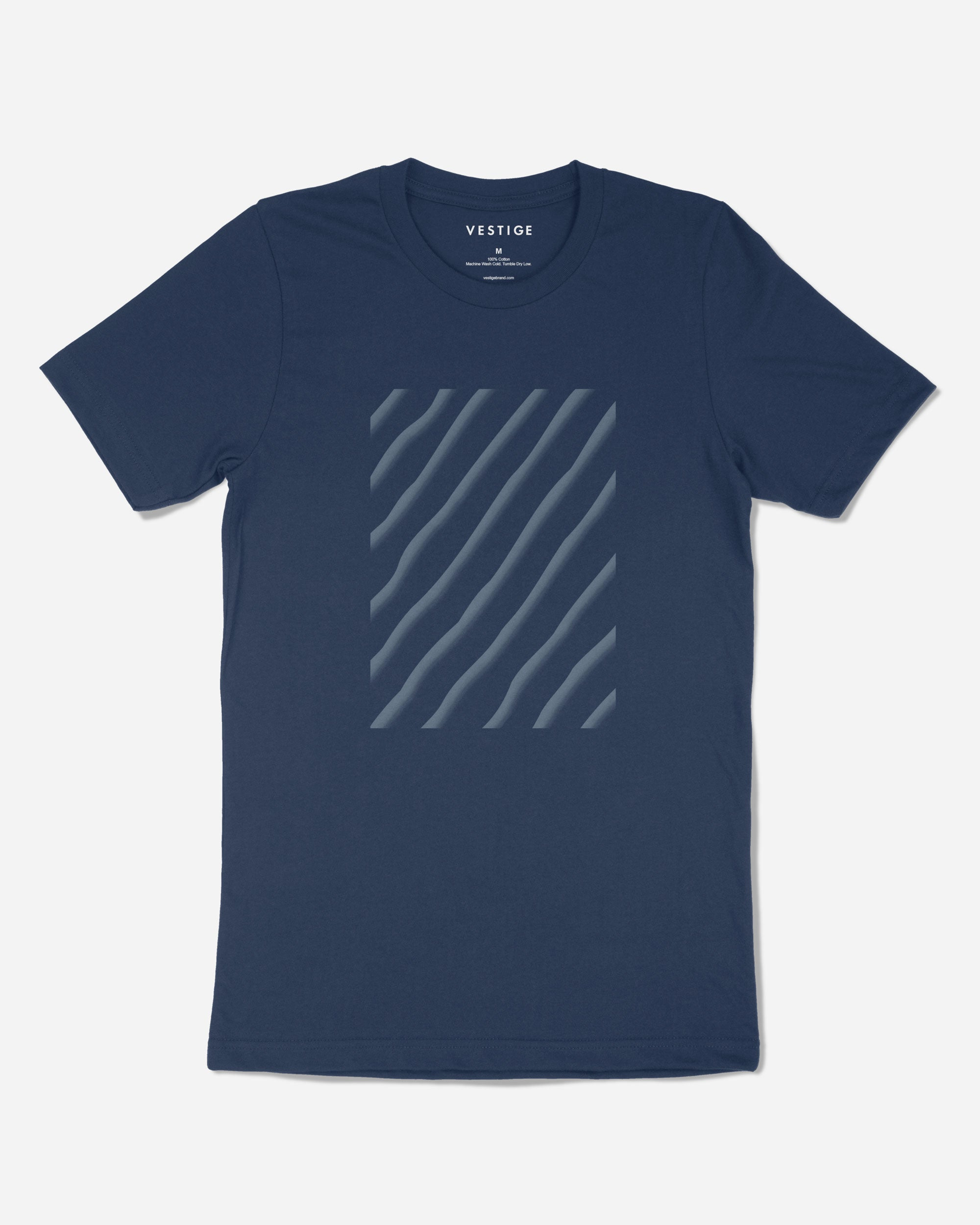 Sand Ripple T-Shirt, Blue
